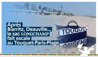 Sac pliage Longchamp le Touquet - Daniel Fasquelle